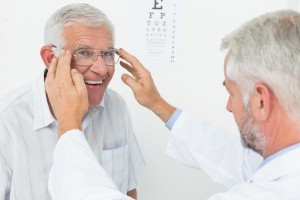 Seniors eye health